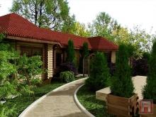 Фото ландшафтный дизайн в п.Солнечный (г.Азов)