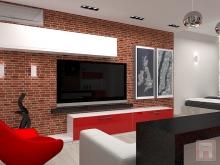 Фото дизайна интерьера однокомнатной квартиры площадью 42 м.кв. в ЖК Парадиз, г.Ростов-на-Дону