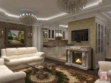 Фото дизайна интерьера гостиной комнаты