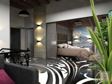 Фото спальни из холла