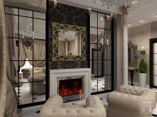 Фото дизайна интерьера дома площадью 160 м.кв. в г.Каменск-Шахтинский