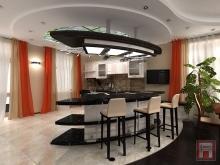 Фото дизайна интерьера дома площадью 250 м.кв. на ул.Баррикадная, г.Ростов-на-Дону