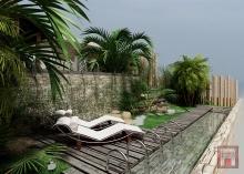 Фото дизайн-проекта ландшафта в Испании