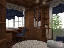 Фото дизайн-проекта кабинета